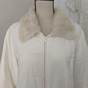 Chico's Jackets & Coats - Thin off white coat by Chico's